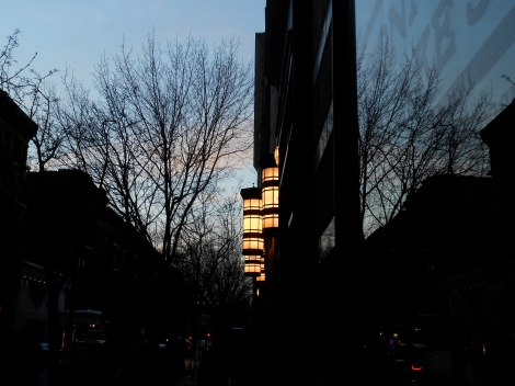 49th Street Reflected